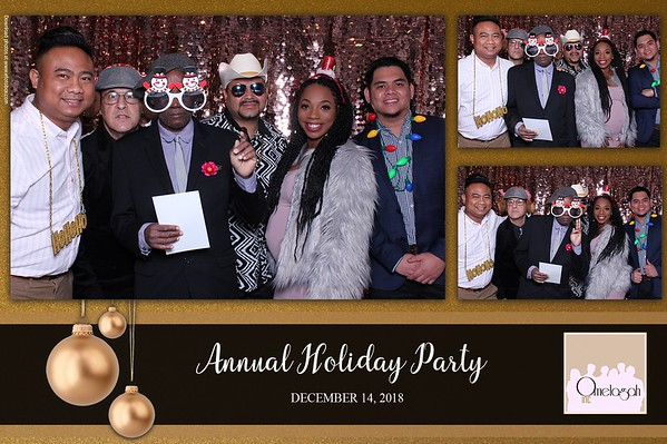 Omegalah Holiday Party 2018