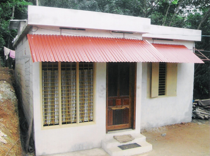 2010 08  Varghese's home nearly complete - to be dedicated September 8.  THL