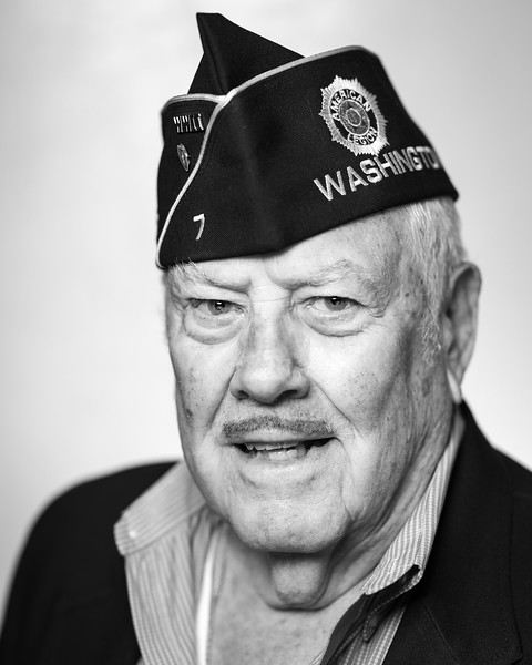 Veteran Portraits - Black and White
