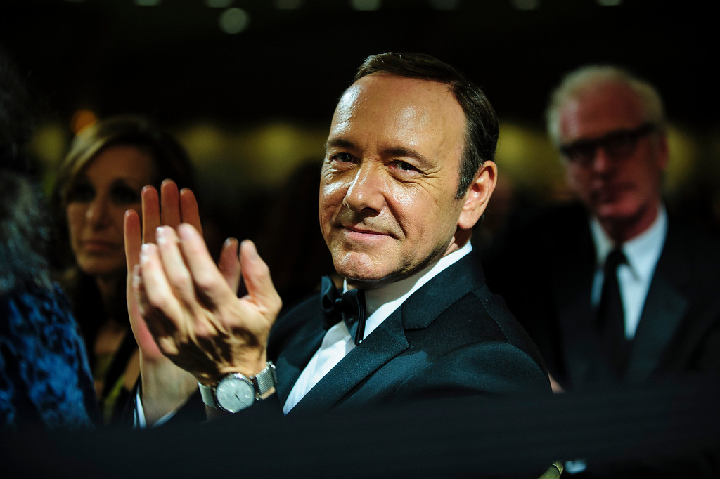 . WASHINGTON, DC - APRIL 27:  Actor Kevin Spacey attends the White House Correspondents\' Association Dinner on April 27, 2013 in Washington, DC. The dinner is an annual event attended by journalists, politicians and celebrities. (Photo by Pete Marovich-Pool/Getty Images)