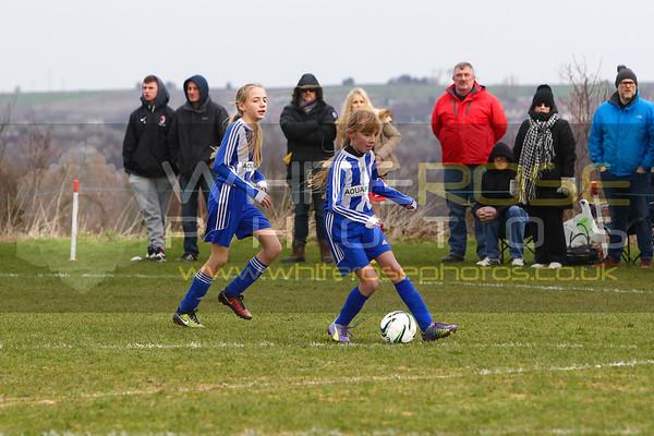 Under 11's Girls v Wickersley Youth girls 21 - 03 - 15