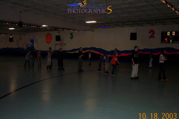 October 18- roller skating