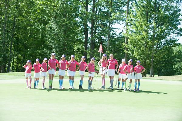 Girls Golf jr. League 10-11