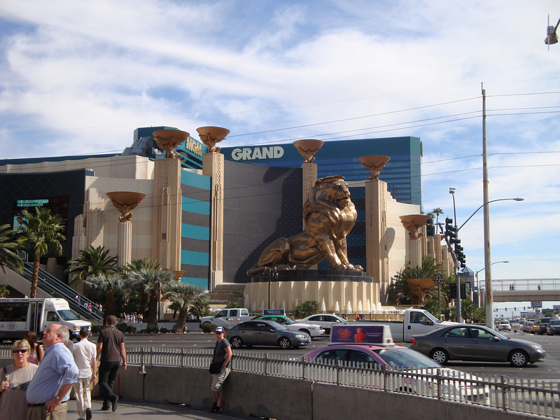 The MGM Grand.