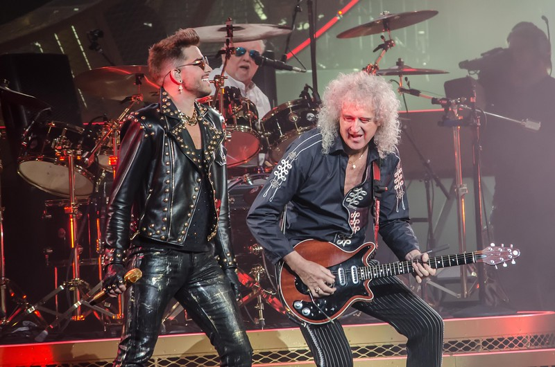 QUEEN/ ADAM LAMBERT IN PHILADELPHIA FOR NATIONAL ROCK REVIEW