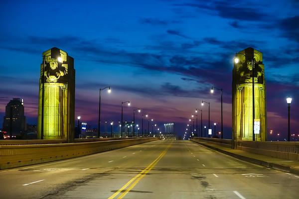 Cleveland Guardians - Hope Memorial Bridge