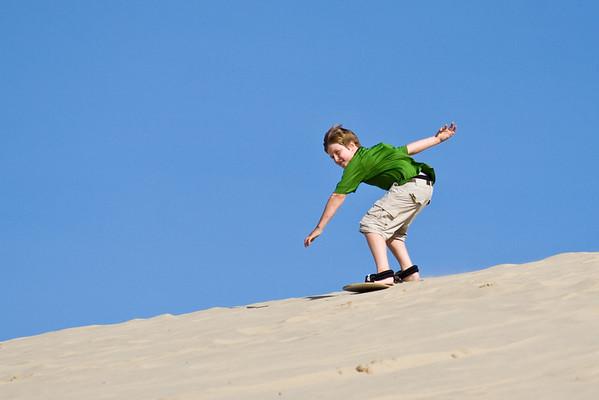 SandBoarding Day 1