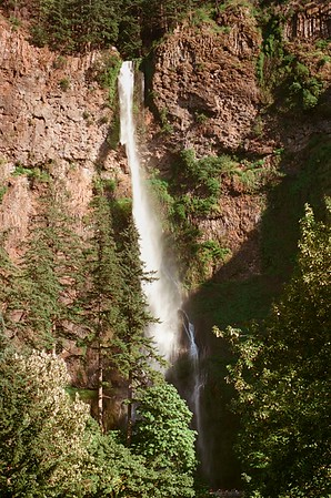 Multnomah Falls in Silberra 50 with an OM2