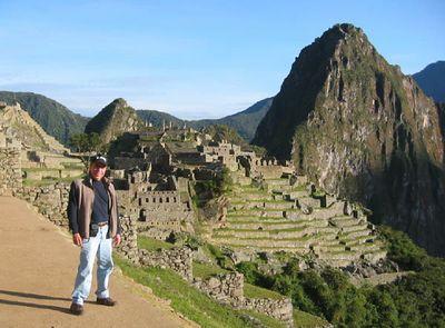 2004 Hiking to Machu Picchu