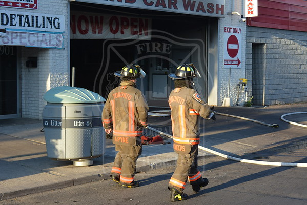 May 24, 2015 - Working Fire - 1901 Danforth Avenue