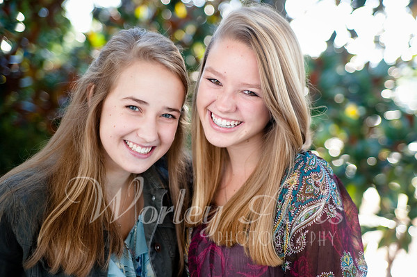 Aurielle & Megan: Senior Session