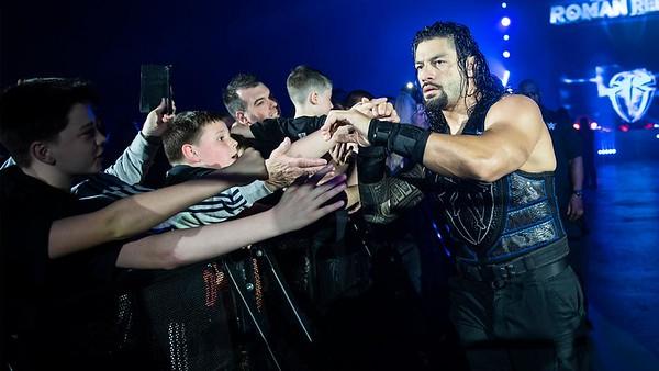 Roman Reigns - Digitals WWE Live Newcastle