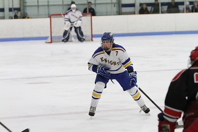 Boys hockey vs Monticello 2-6