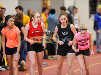 Girls' DMR - 2014 MITS State Meet