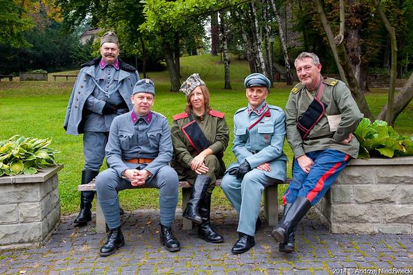 100-lecie Wymarszu Legionu Śląskiego    Cieszyn 20 wrzesień 2014r