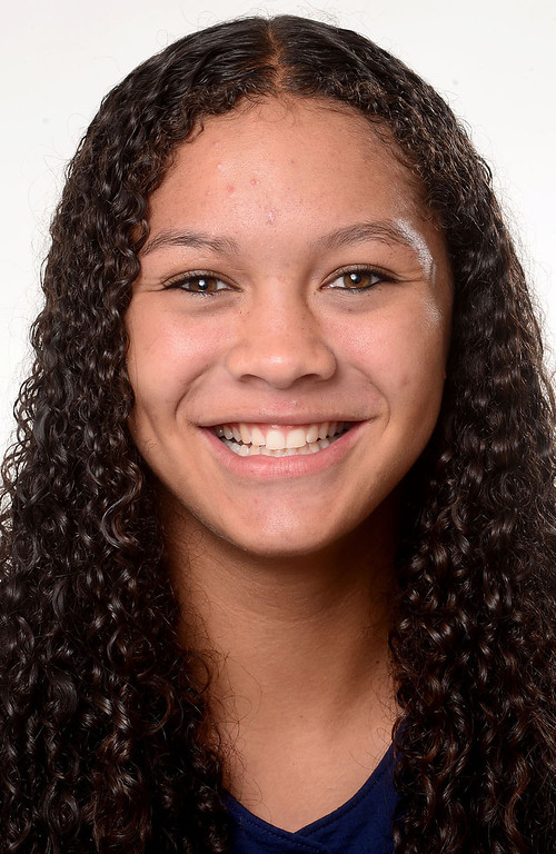 . Patricia Parks has been named to The Sun\'s All-Area softball team. Parks plays softball for Chino Hills High School. Sarah Reingewirtz staff photo for The Sun.