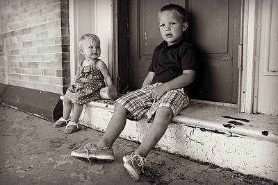 Bryce & Brooklyn {kid pics}