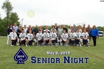 2015 Senior Night Introductions (05-14-15)