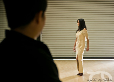 Mabuhay Fashion Show - Rehearsal