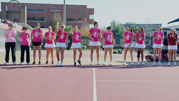 2017 FSU W Tennis v UNF