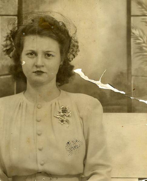 Jessie May 1945.