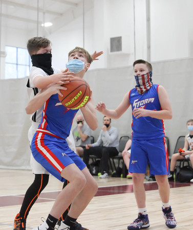 Surry Strom vs Davie Basketball