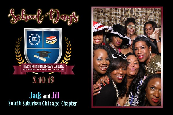 Jack & Jill South Suburban Chapter Fundraiser Mirror Booth