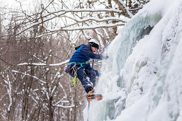 Cours moulinette escalade de glace