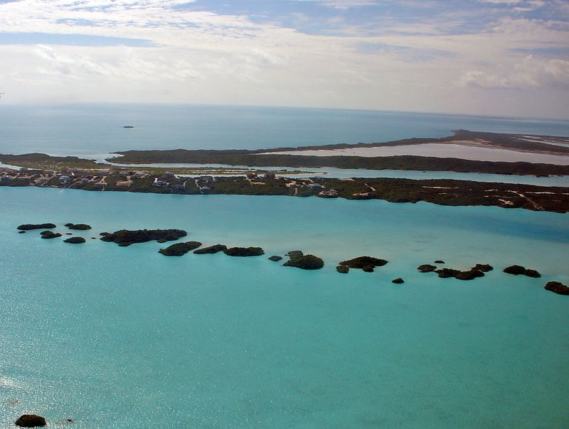 Our First View of Turks and Caicos