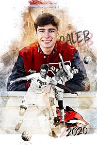 2020 Caleb Aquino Soccer Print