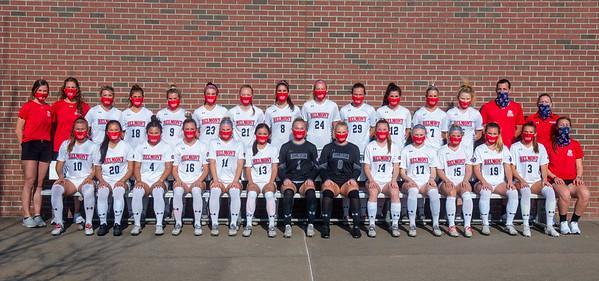 Women Soccer team shot