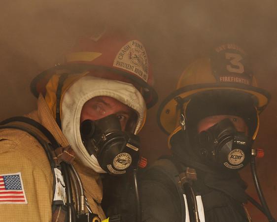 Training Burn Oct 12 2008