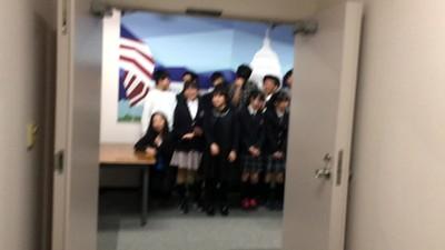 2018-05-19 Kiyota JHS visit