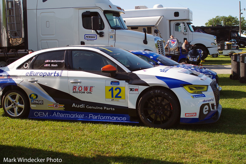 eEuroparts.com ROWE Racing Audi RS3 LMS TCR DSG