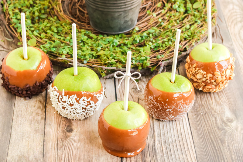 best ever caramel apples on the stove
