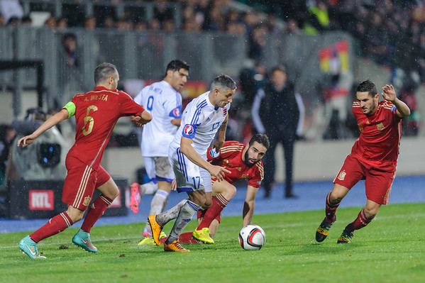 Luxembourg - Spain 2014
