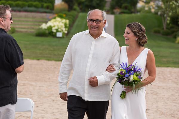 Bay Harbor Wedding | Alison + Patrick | Sunset Beach Marina Photography