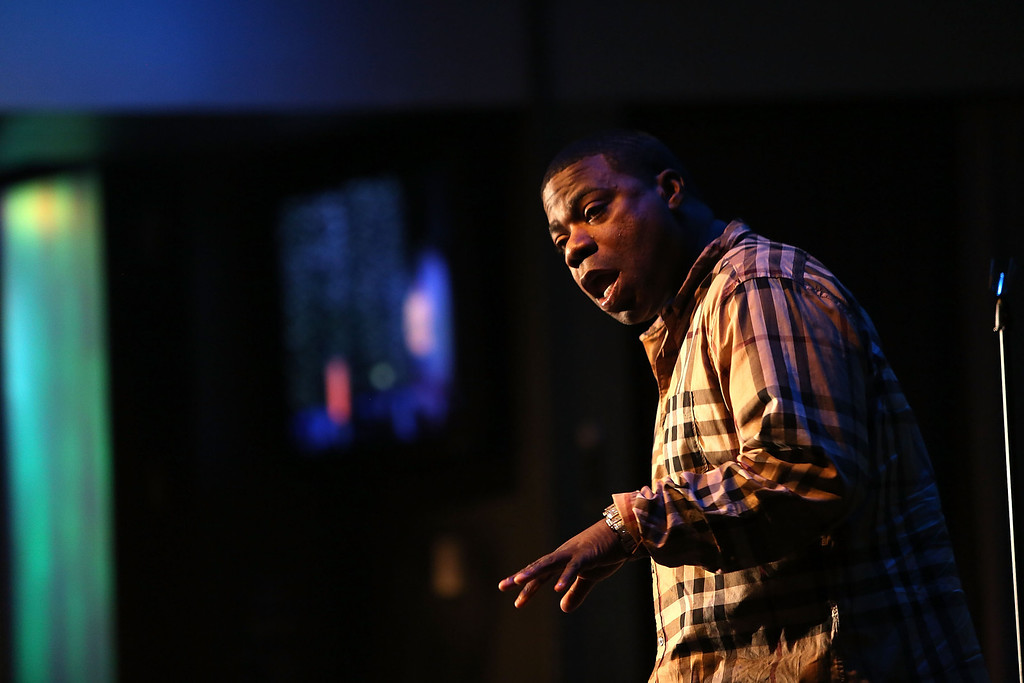 . Tracy Morgan performs Live at Mount Airy Casino Resort February 1, 2014 in Mt. Pocono, Pennsylvania.  (Photo by Bill McCay/Getty Images for Mount Airy Casino Resort)