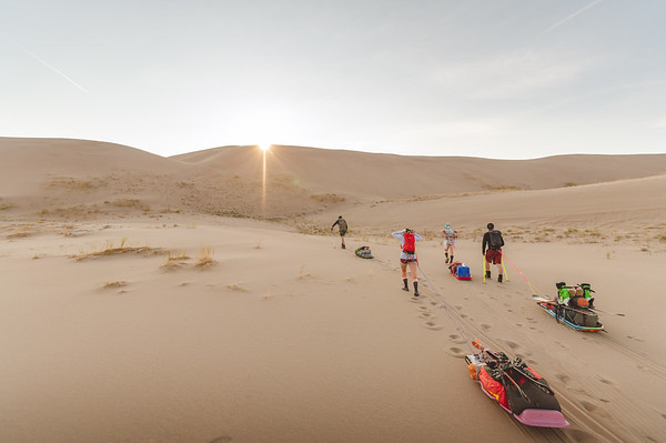 Skiing the Great Sand Dunes
