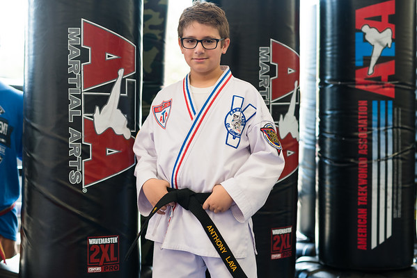 I am a Black Belt - Anthony Laya