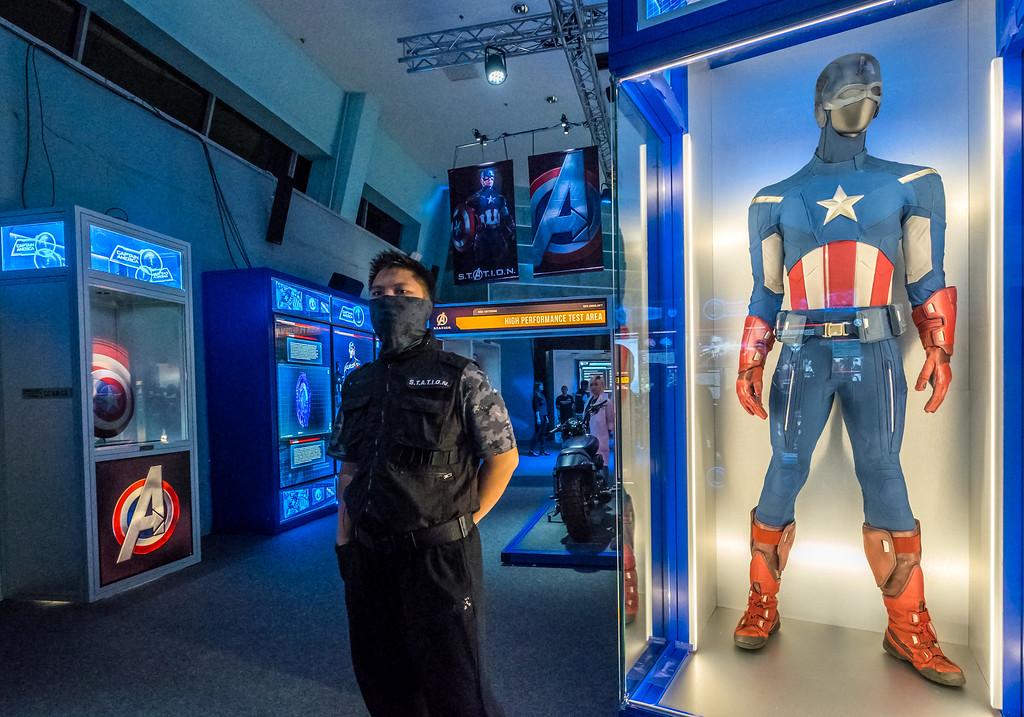 MARVEL'S AVENGERS S.T.A.T.I.O.N. - Captain America costume