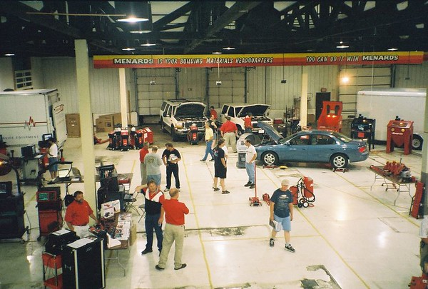 2002 Snap-on Davenport Branch Tool Shows