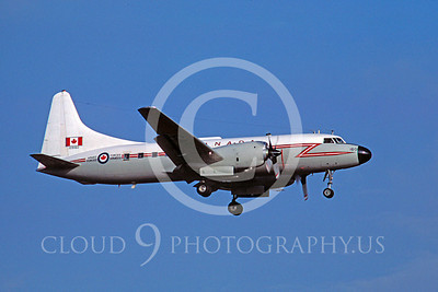 Flying Canadian Armed Forces Convair C-131 Samaritan Airplane Pictures
