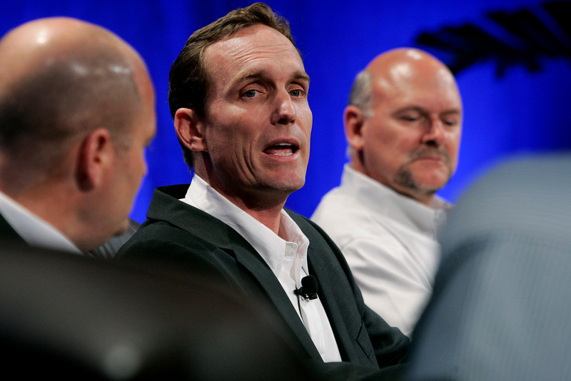 """FiReStarters II"": [L-R] Dave Grannan, President and CEO, vlingo; John Bower, CEO, uBoost; and Michael Rocke, VP of Business Development, Transonic Combustion Inc."