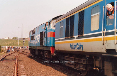 Irish Traction Group The Hunslet Farewell Saturday 21 April 1990
