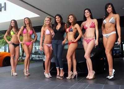 Lamborghini's @ Bikinis
