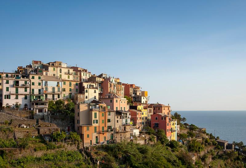 Coastal village of Corniglia, Cinque Terre, Italy