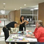 2013 Timberview High School Library Card Drive