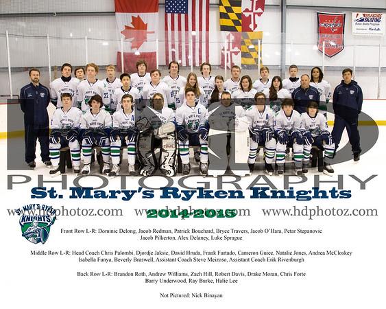 Ryken Ice Hockey 2014-2015