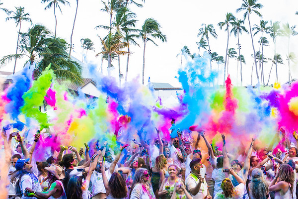 The Color Festival Hawaii 2019